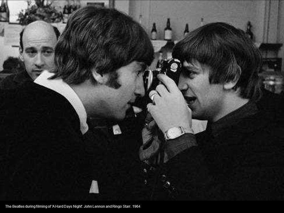 Brian and Mick - photo Linda Eastman (McCartney) - 1966