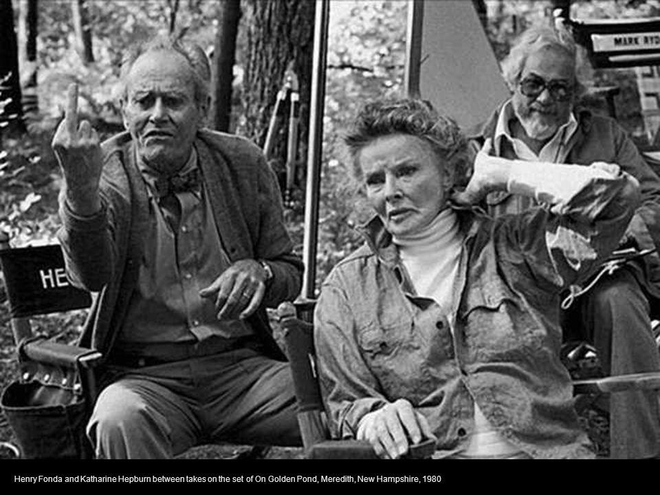 Diane Lane and Francis Ford Coppola discuss the next scene on the set of Rumble Fish, Tulsa, Oklahoma, 1982
