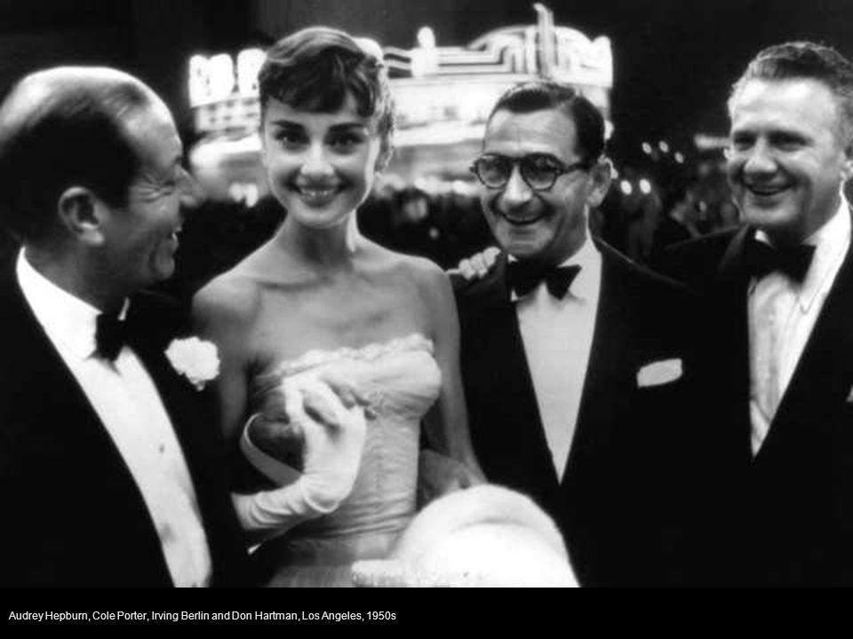 Sophia Loren on the set of