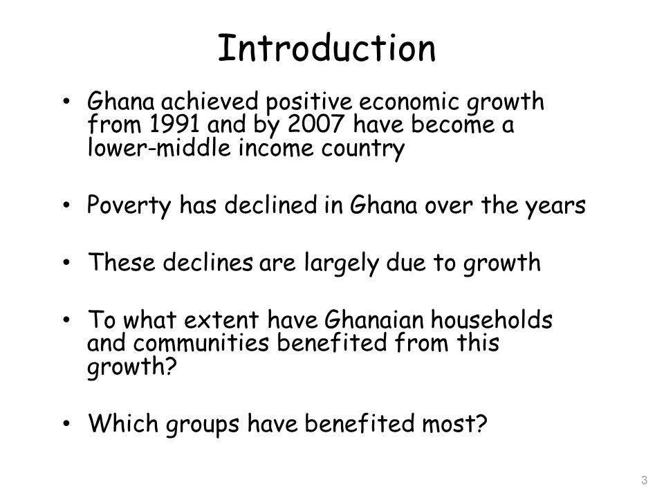 Poverty Incidence by region: PL= Gh¢1,314 14  Only Eastern region experienced an increase in poverty.