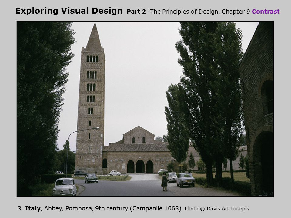 Exploring Visual Design Part 2 The Principles of Design Chapter 9 Contrast Using Shape, Form and Size 14.