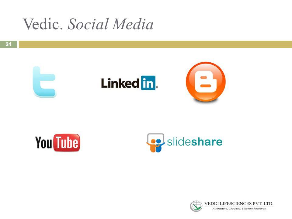 Vedic. Social Media 24