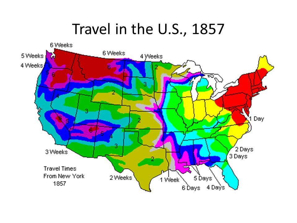 Travel in the U.S., 1857