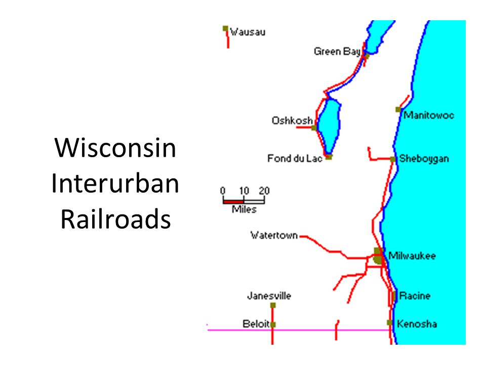 Wisconsin Interurban Railroads