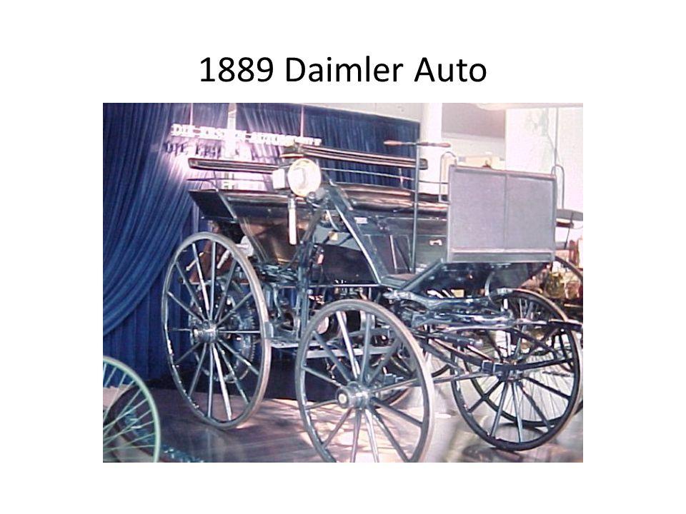1889 Daimler Auto