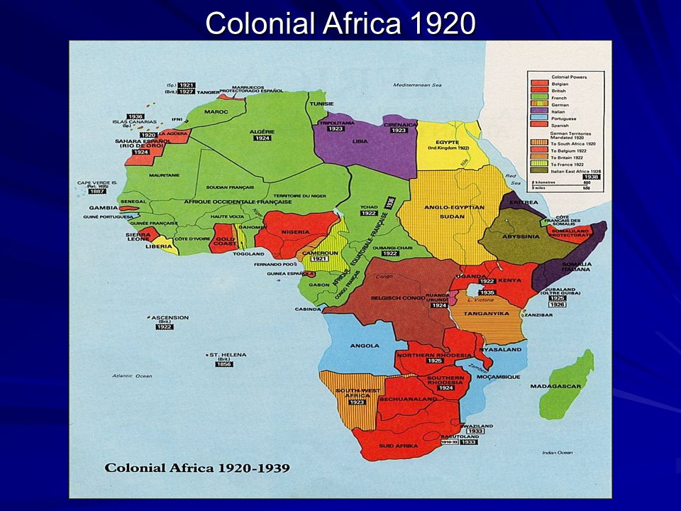 Colonial Africa 1920
