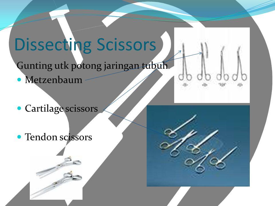 Dissecting Scissors Gunting utk potong jaringan tubuh Metzenbaum Cartilage scissors Tendon scissors