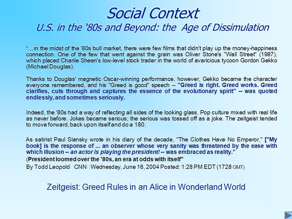 Social Context U.S.