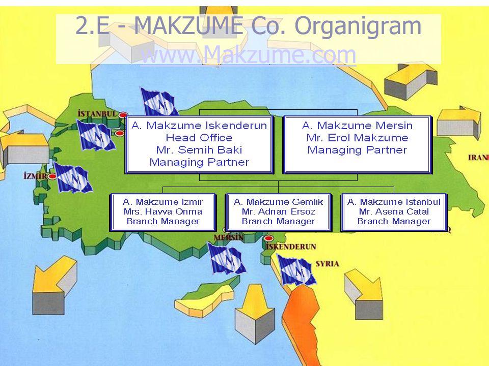 8 2.E - MAKZUME Co. Organigram www.Makzume.com www.Makzume.com