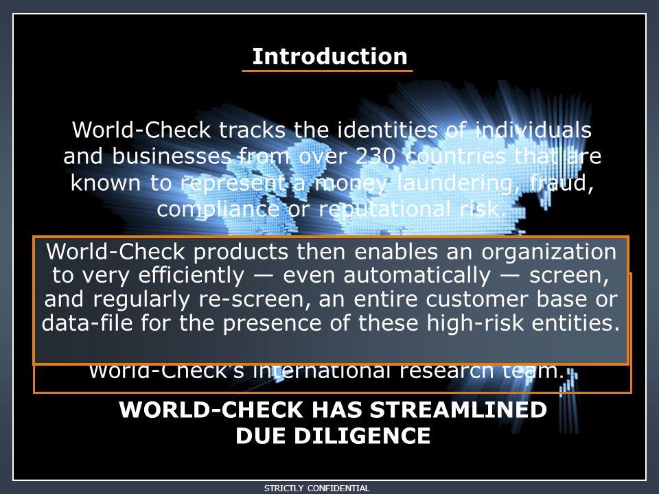 Heidi Marchetti Customer Support hm@world-check.com