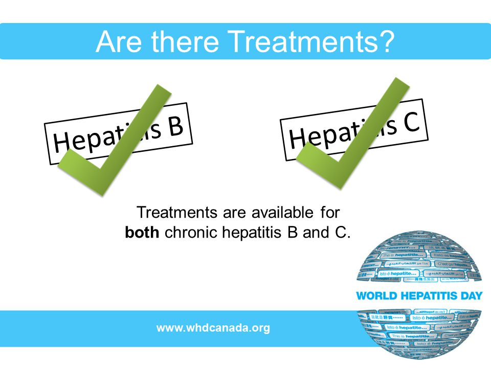 Learn More… Contact us at: World Hepatitis Day (Canada) www.whdcanada.org