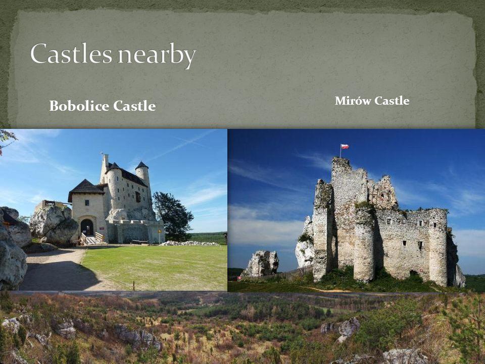 Bobolice Castle Mirów Castle