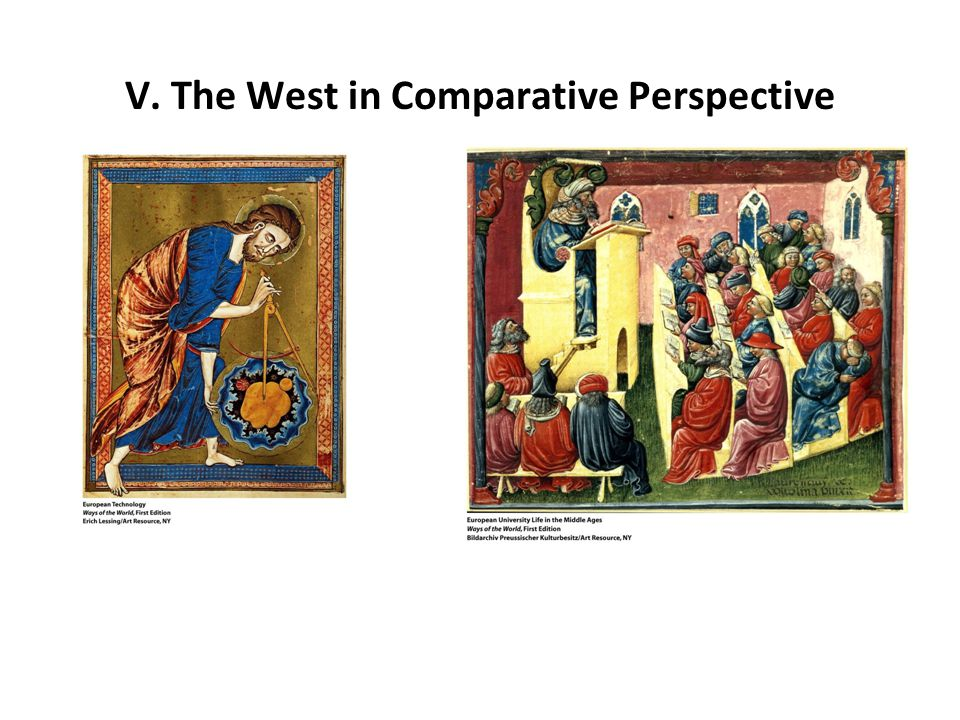 V. The West in Comparative Perspective
