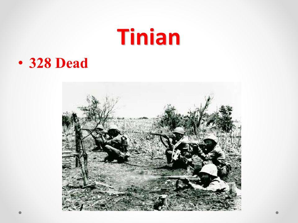 Tinian 328 Dead