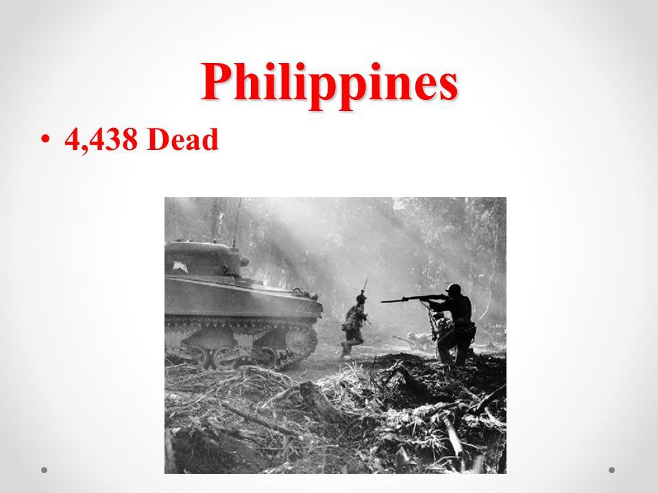 Philippines 4,438 Dead