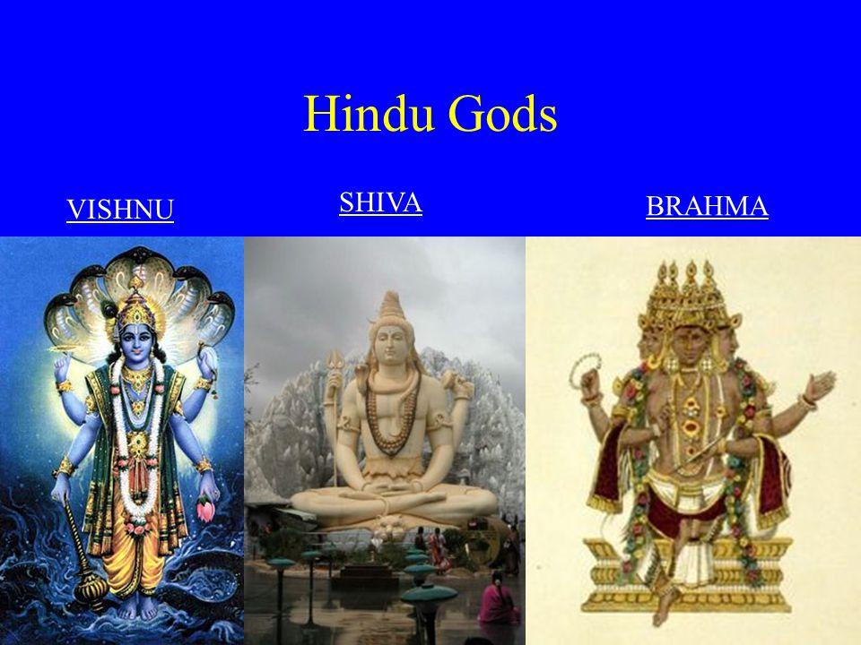 Hindu Gods VISHNU SHIVA BRAHMA