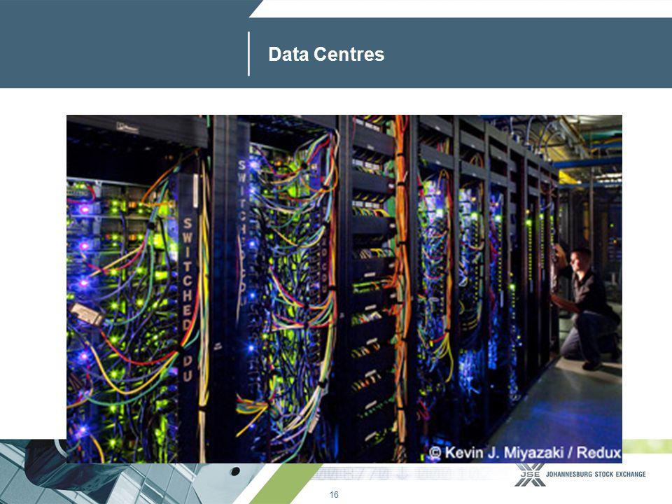 16 www.jse.co.za Data Centres