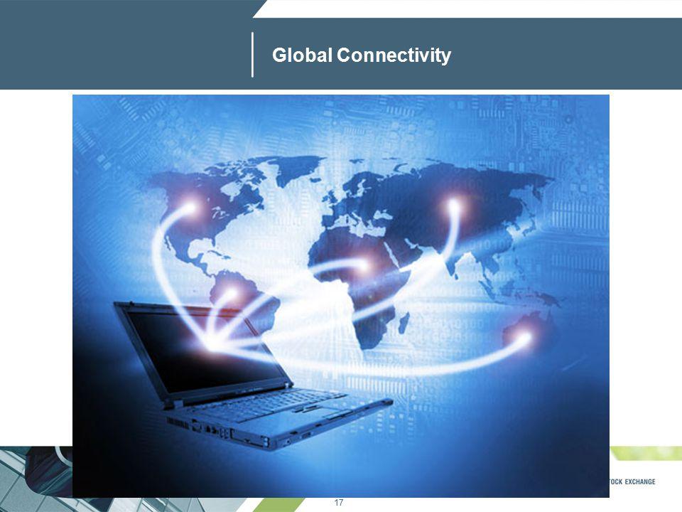 17 www.jse.co.za Global Connectivity