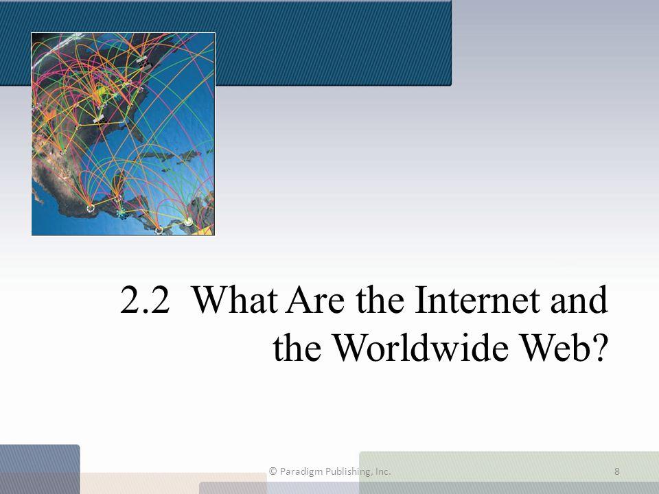 Navigating among Web Pages Hyperlinks identify a Web destination.