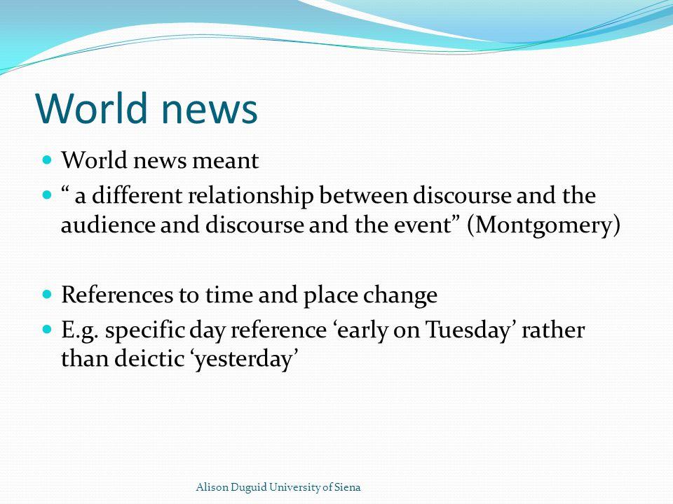 CCTV News Middle East Cote d'Ivoire Alison Duguid University of Siena