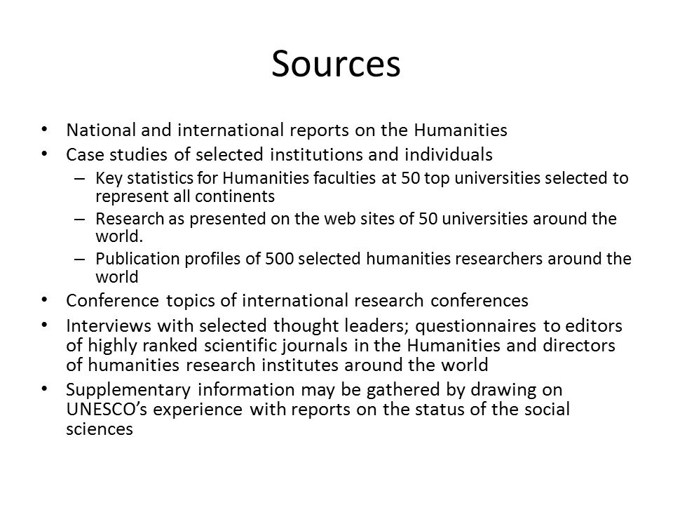Thematic focus points Digital technologies Converging humanities Translational research practices Humanities Research Institutes Academic freedom and the role of the individual scholar Research impact and metrics