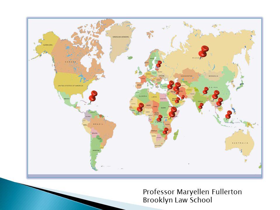 Professor Maryellen Fullerton Brooklyn Law School
