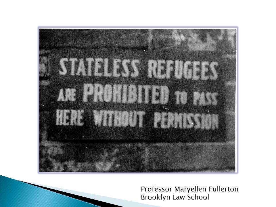 Professor Maryellen Fullerton Brooklyn Law School Haile v.