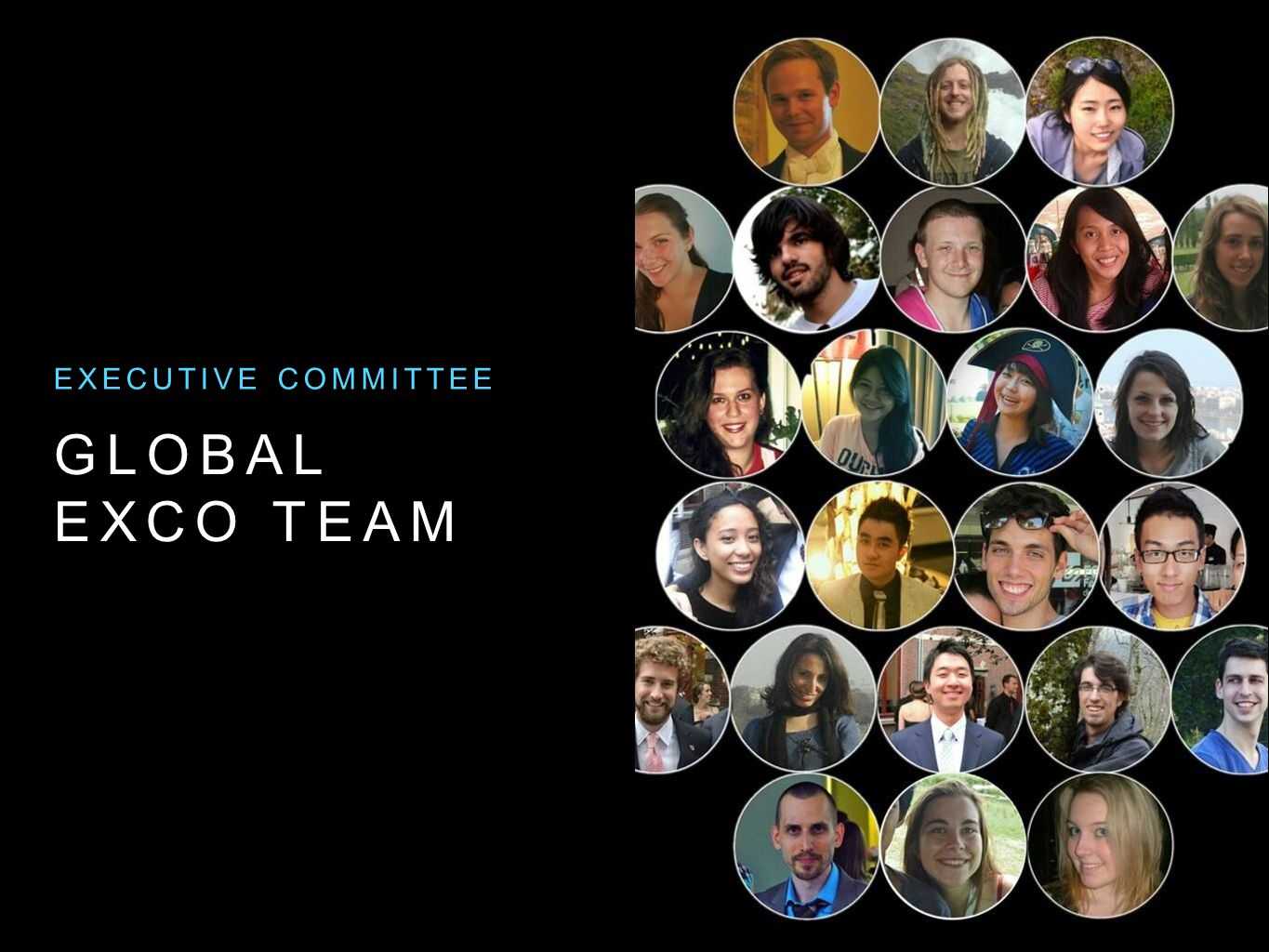 GLOBAL EXCO TEAM EXECUTIVE COMMITTEE