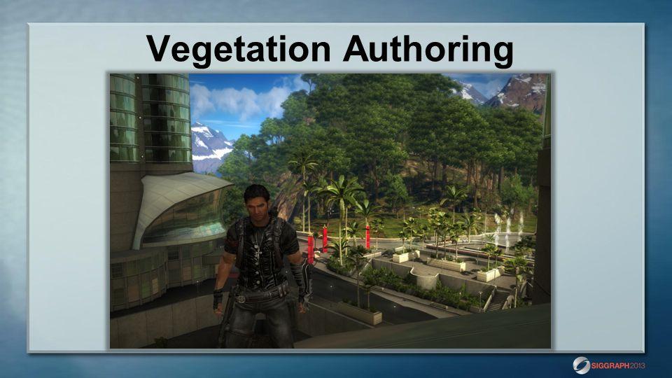 Vegetation Authoring