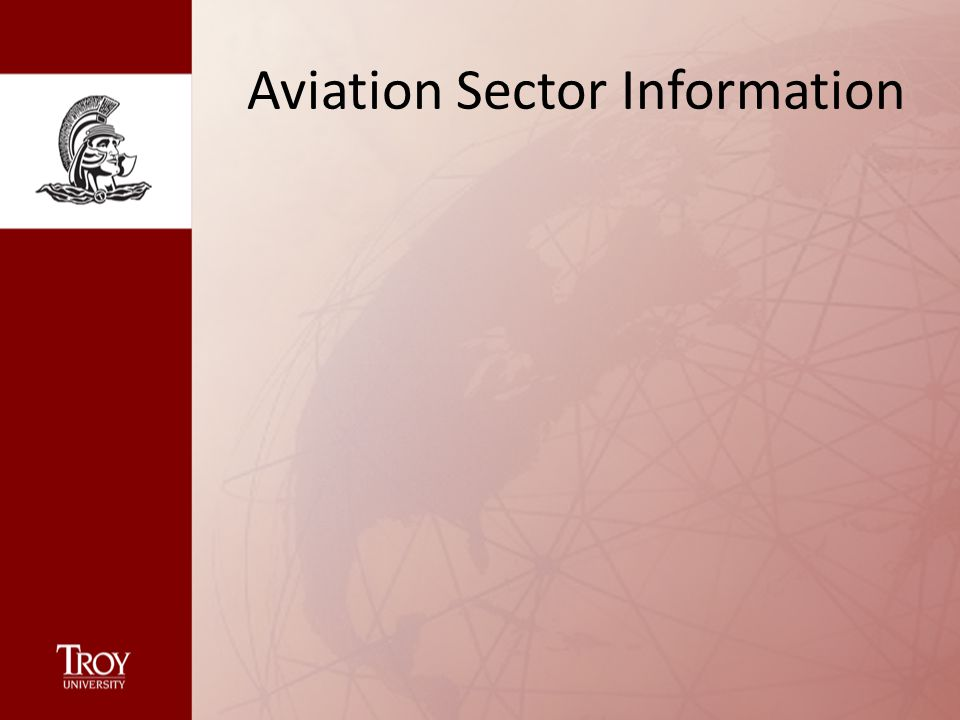 Aviation Sector Information