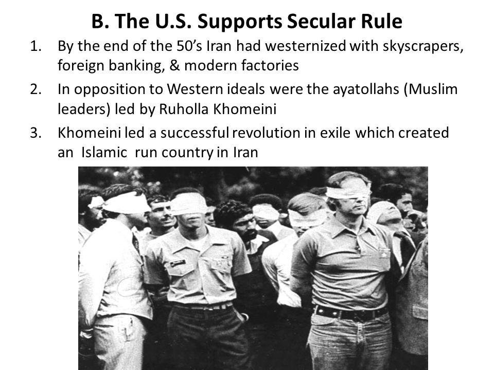 B.The U.S.