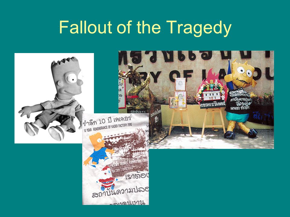Fallout of the Tragedy