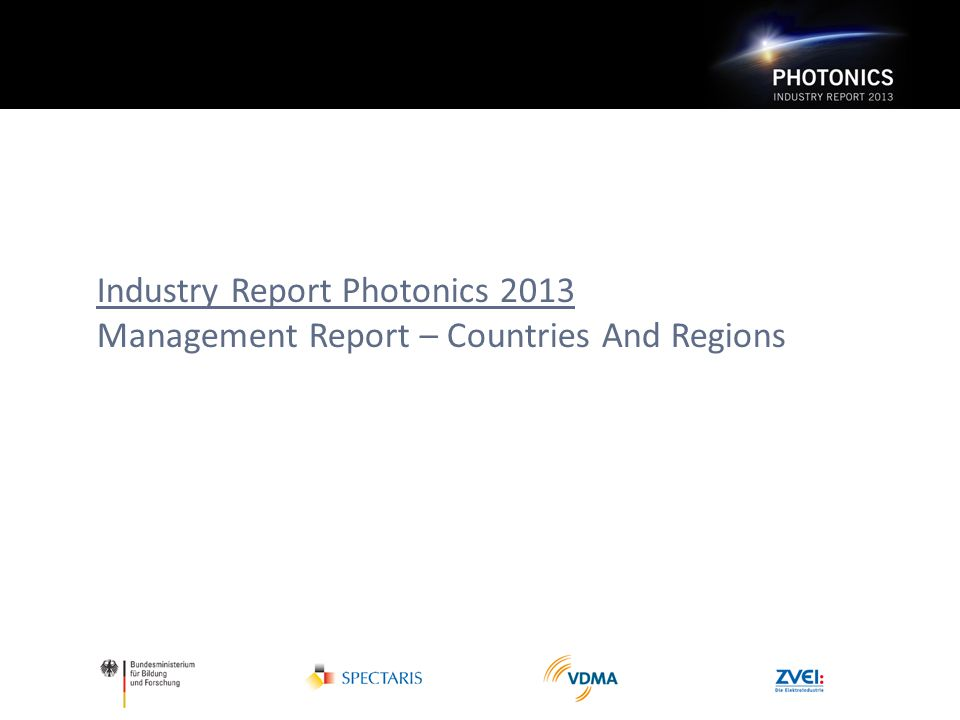 Industry Report Photonics 2013 Management Report – Countries And Regions
