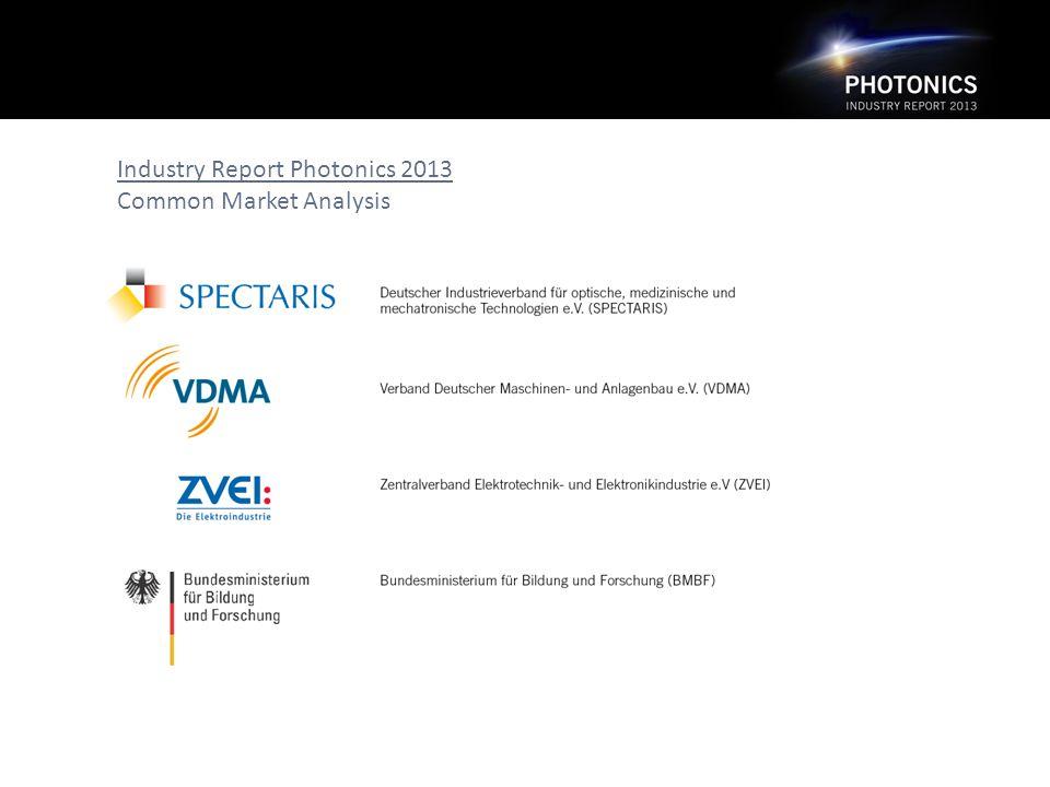Industry Report Photonics 2013 Common Market Analysis