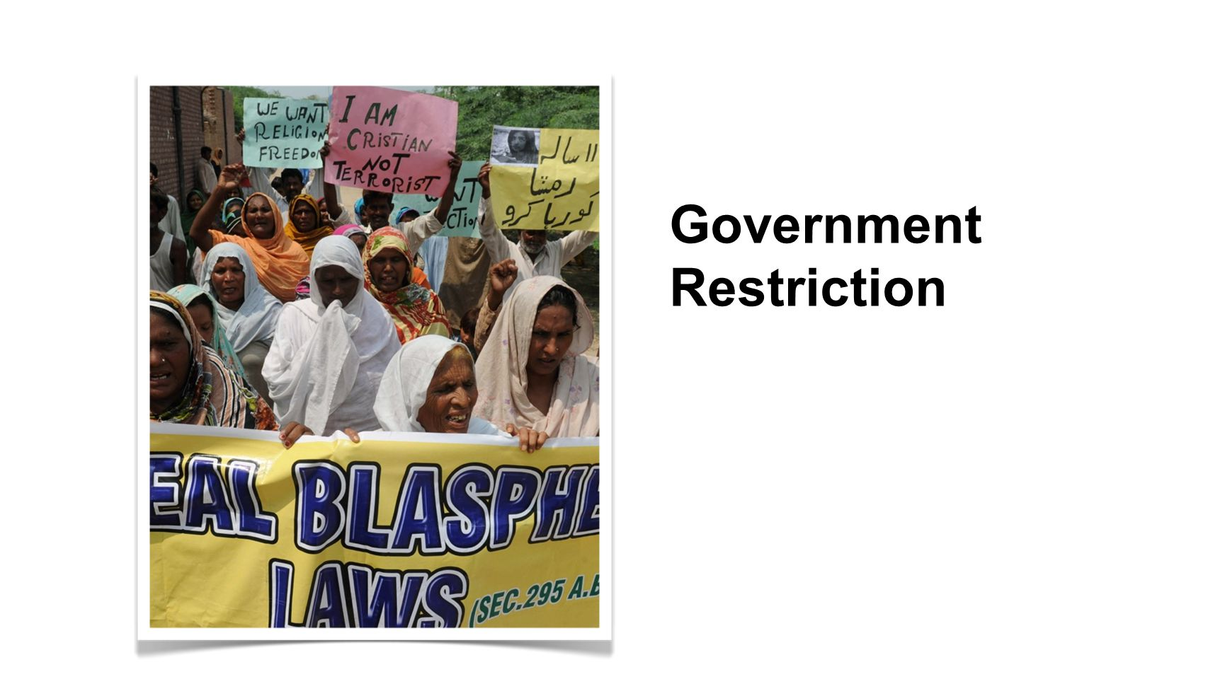Government Restriction