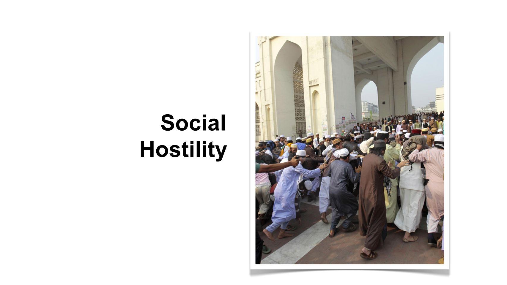 Social Hostility