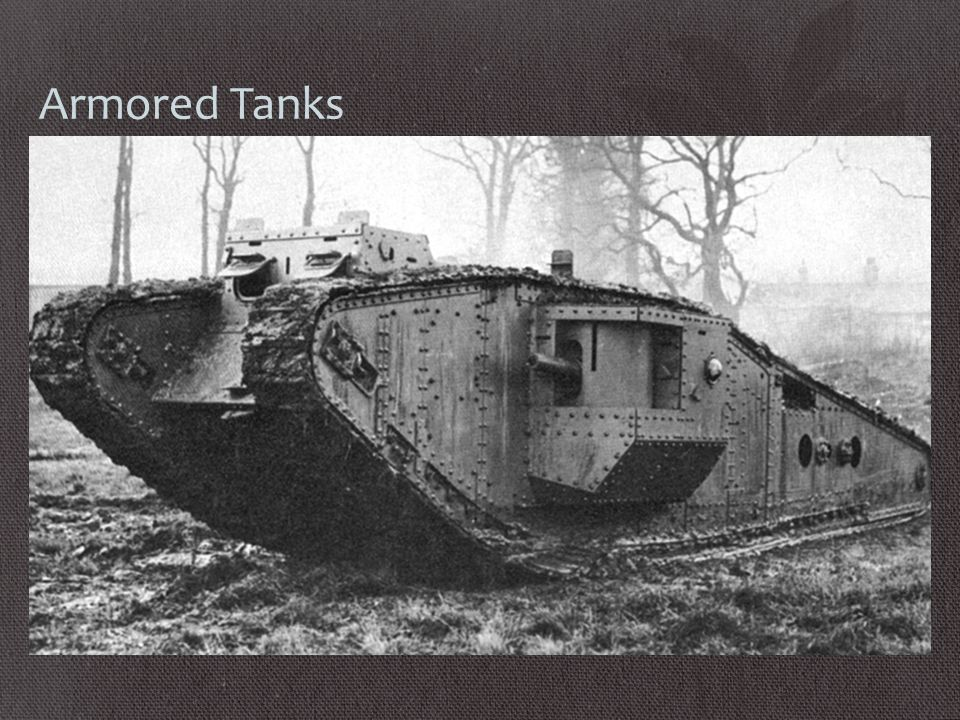 Armored Tanks