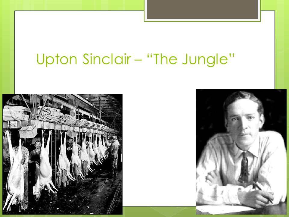 Upton Sinclair – The Jungle