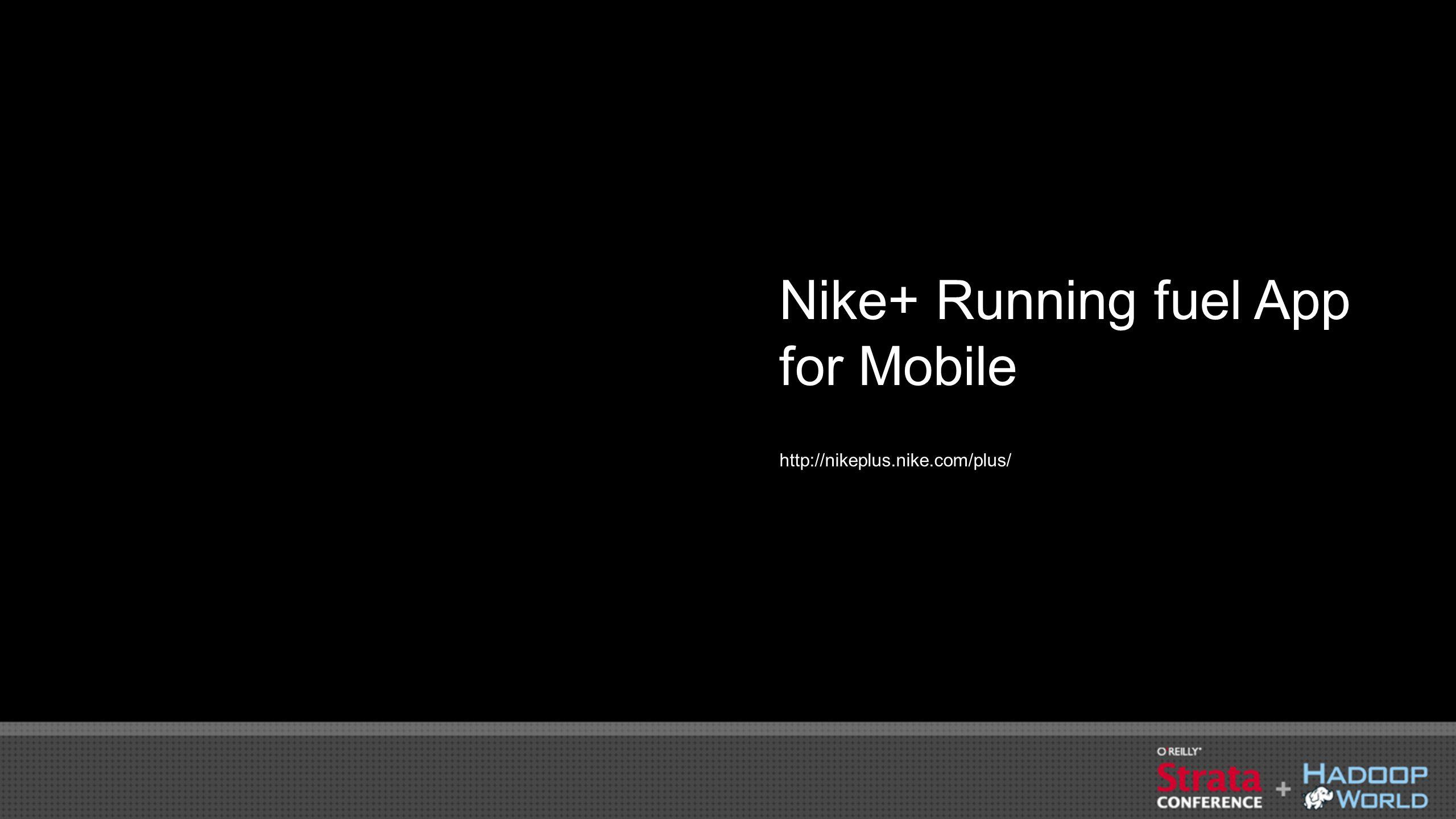 Nike+ Running fuel App for Mobile http://nikeplus.nike.com/plus/