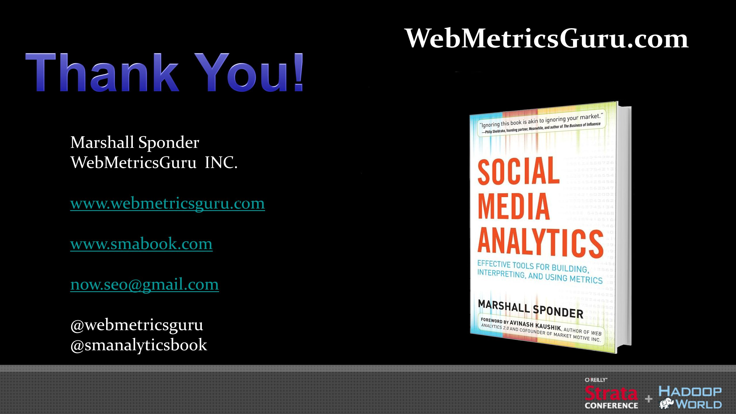 Marshall Sponder WebMetricsGuru INC.