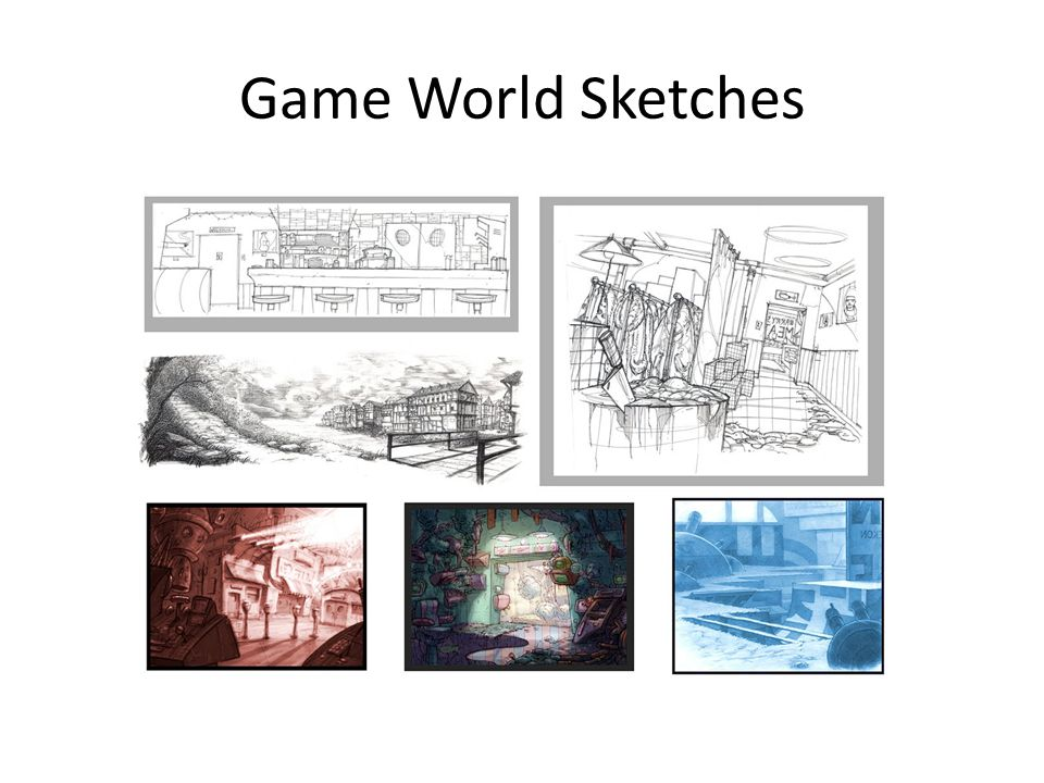 Game World Sketches
