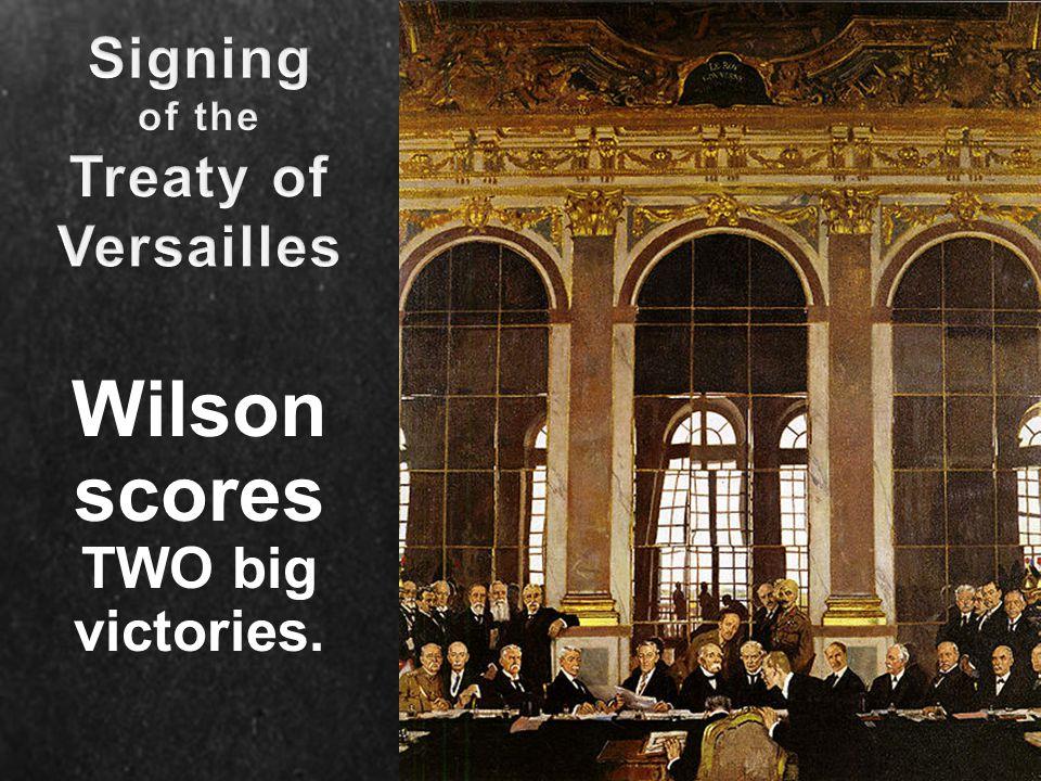 Wilson scores TWO big victories.