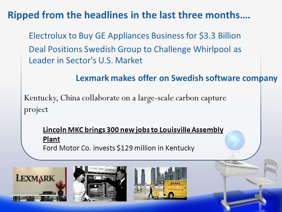 Electrolux to Buy GE Appliances Business for $3.3 Billion Deal Positions Swedish Group to Challenge Whirlpool as Leader in Sector s U.S.