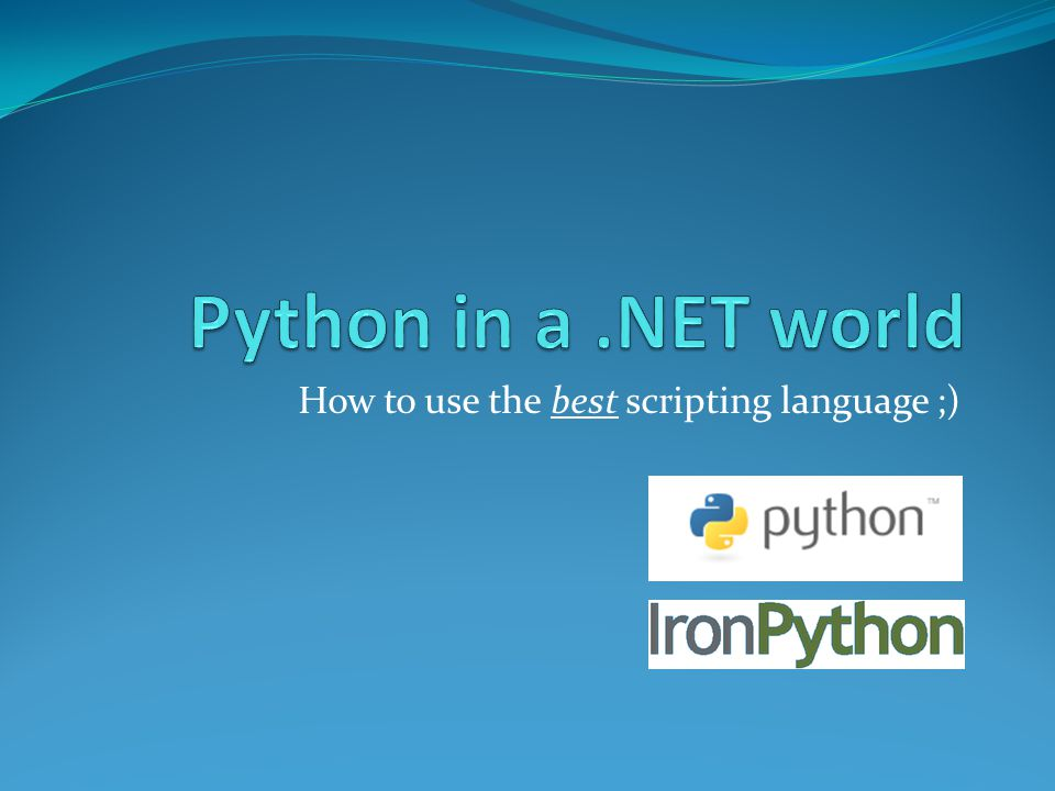 The Zen of Python If the implementation is easy to explain, it may be a good idea.
