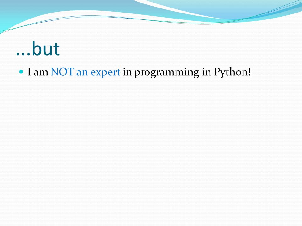 The Zen of Python Errors should never pass silently.
