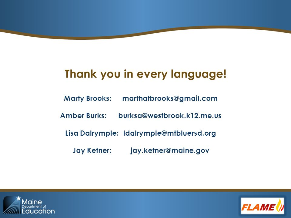 Thank you in every language.