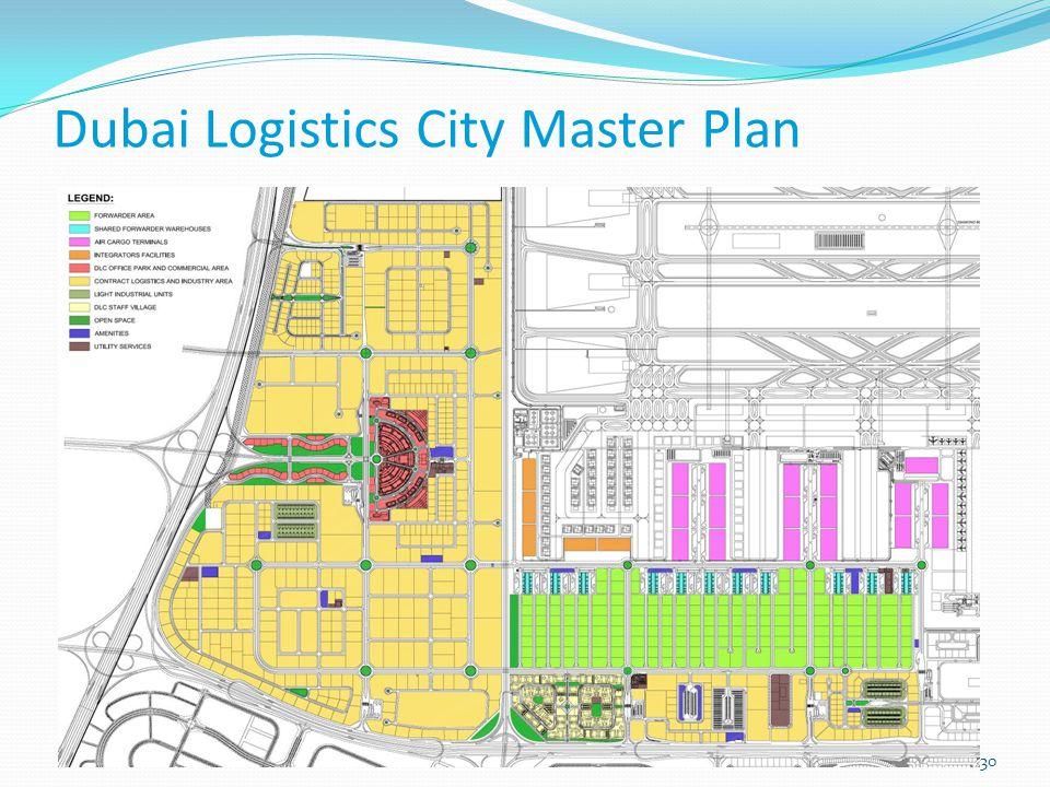 Dubai Logistics City Master Plan 30