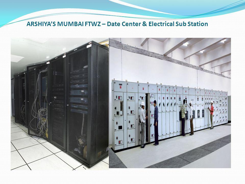 ARSHIYA'S MUMBAI FTWZ – Date Center & Electrical Sub Station
