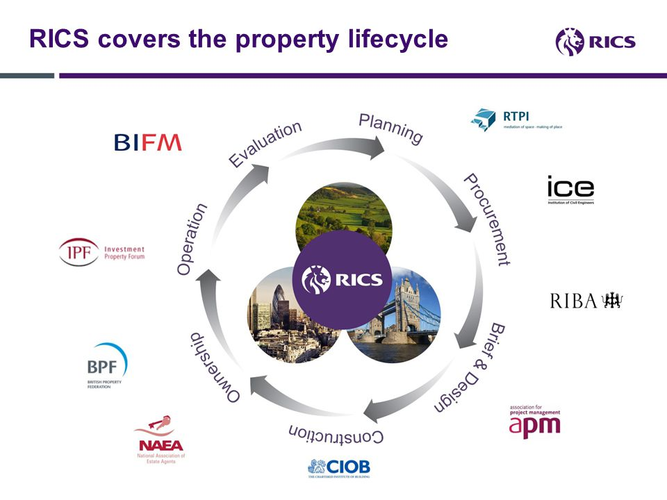 RICS covers the property lifecycle