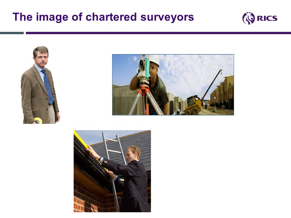 The image of chartered surveyors